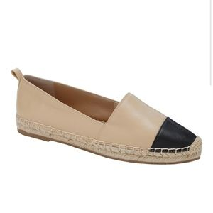 Classic Leather Espadrille Loafer